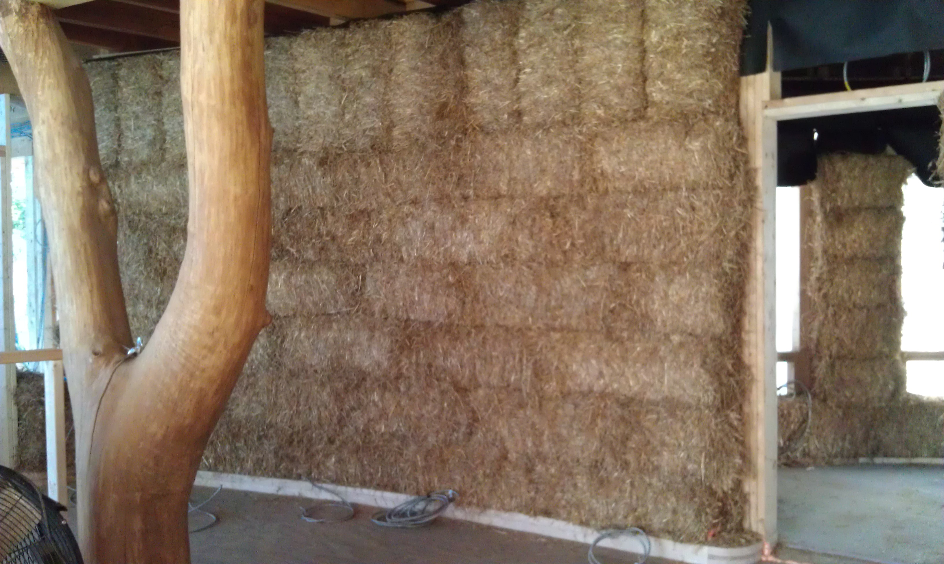 Strawbale Wall Building Intensive